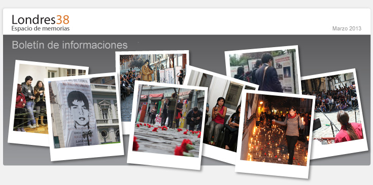 Londres 38. Imágenes de múltiples actividades  desarrolladas por Londres38